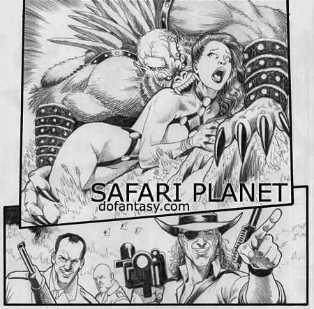 SAFARI PLANET - MARC BORSTEL