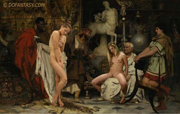Nude roman slave girls